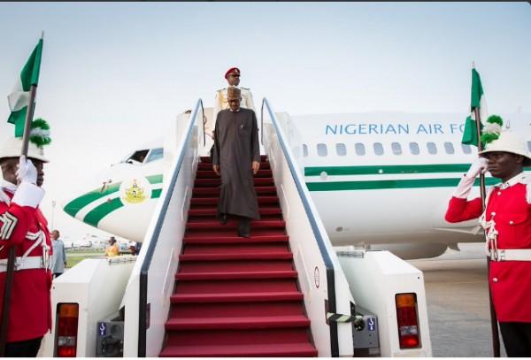 Zamfara--Kaduna-Killings--Buhari-cuts-trip--returns-to-Nigeria434604833602219392