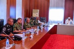Buhari Service Chiefs