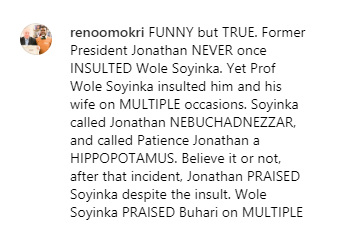 Screenshot_2019-08-05 Reno Omokri backs Presidency on Wole Soyinka being a 'blackmailer'