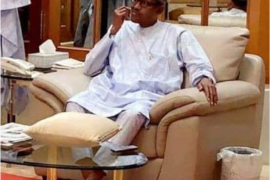 Screenshot_2019-08-09 Caption this new photo of President Buhari